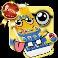 Free Yellow Cute Cartoon Theme APK for Windows 8