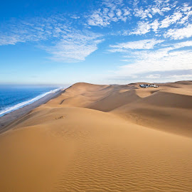 by Chris Coetzee - Landscapes Travel ( sand, desert, sand dunes, namibia )