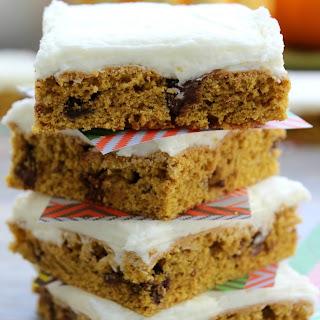 Pumpkin Chocolate Chip Cookie Bars Recipes