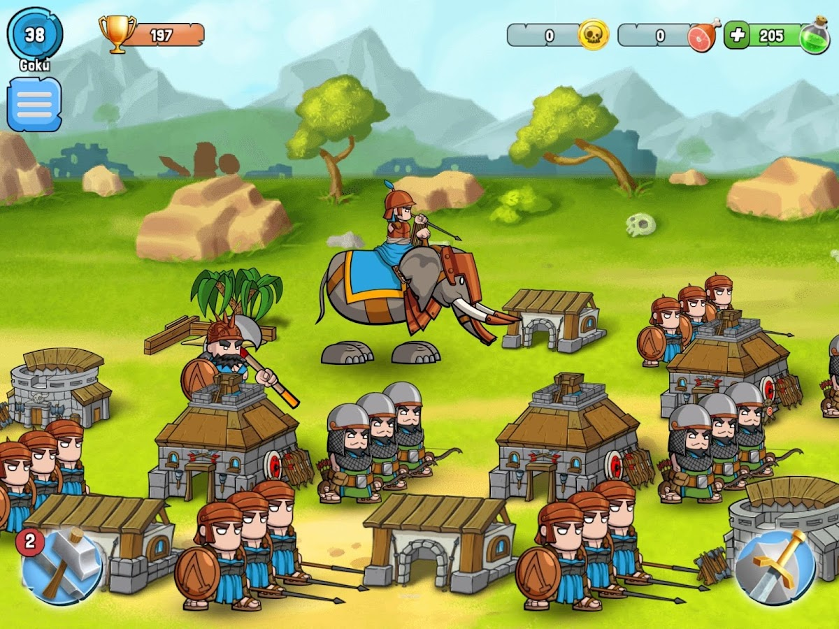 Spartania: Casual Strategy Screenshot 10
