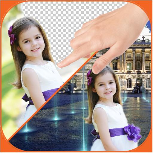 Change photo background (app)