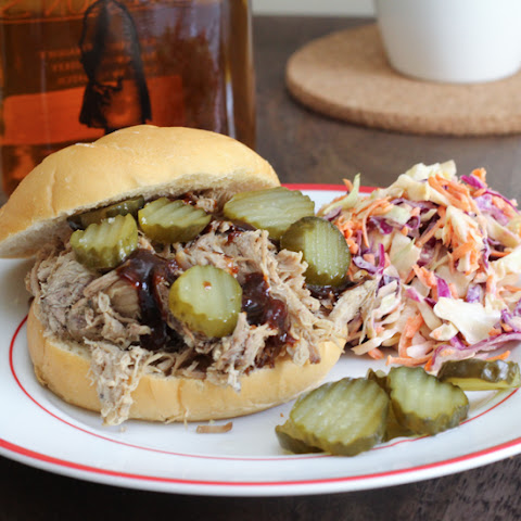 Slow Cooker Bourbon Pulled Pork‏