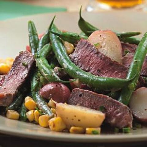 Steak & Potato Salad With Horseradish Dressing Rezept | Yummly