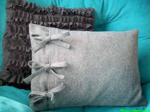 Сшить наволочку на подушку диванную