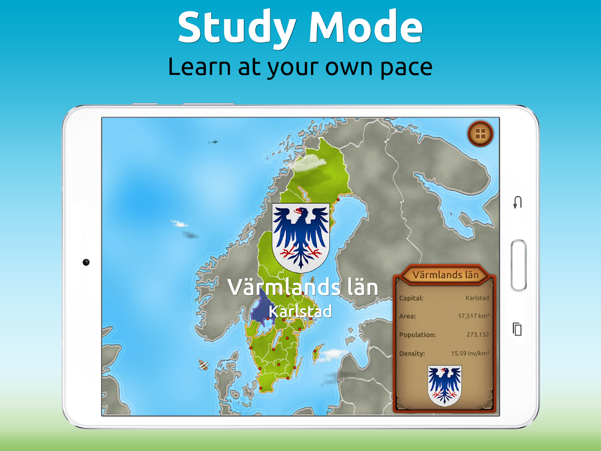 GeoExpert - Sweden Geography Screenshot 7