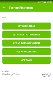 Techno Ringtones - screenshot