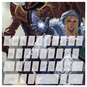 Cool Keyboard. Art Keyboard for Dota 2 Theme. APK Icon