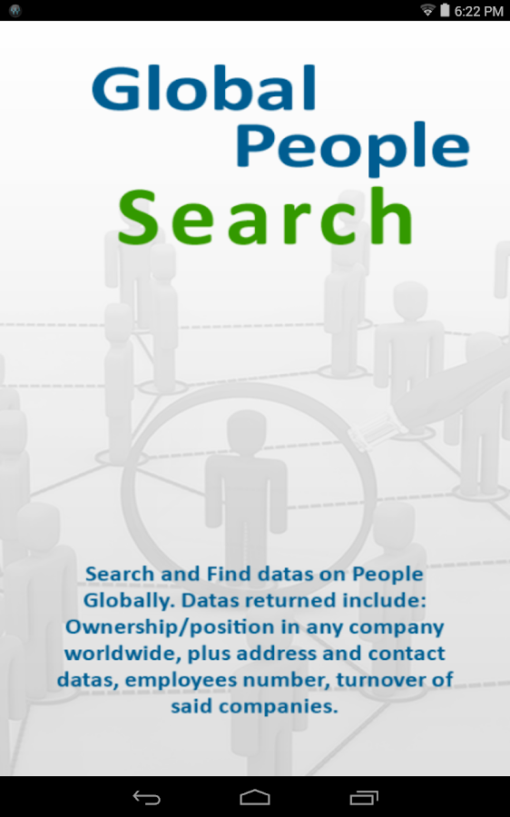 Global People Search Screenshot 3