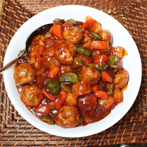 Sweet and Sour Pork Meatballs