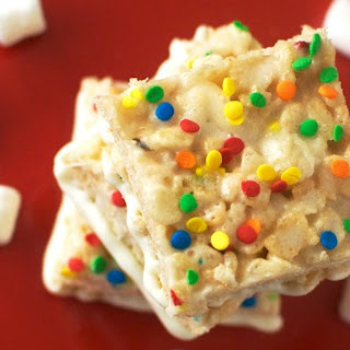 Funfetti Krispy Treats