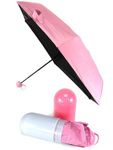 """Зонт компактный """"Капсула"""", складной, розовый"""