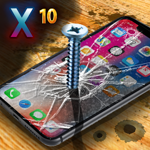 Destroy iPhone 8 and iPhone 10 X checking them for durability! APK Icon