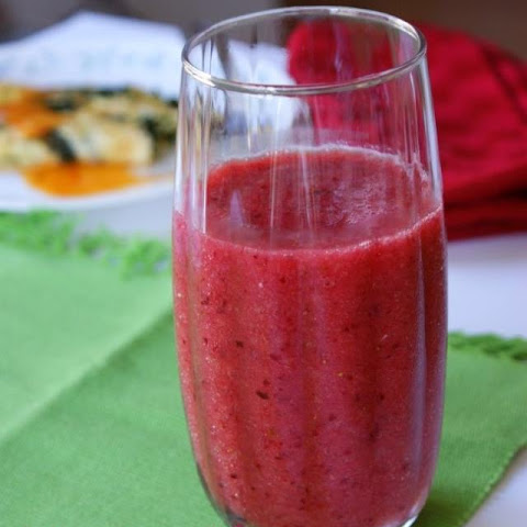 Morning Strawberry Glory Breakfast Smoothie