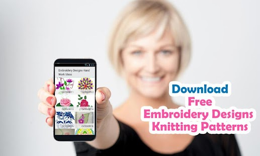 Embroidery Designs Knitting - screenshot