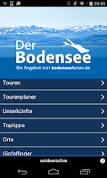 Screenshot of Der Bodensee – Wander- und Rad