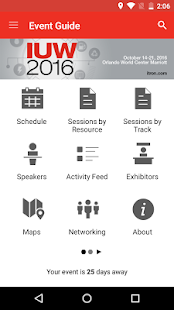 Itron Events - screenshot