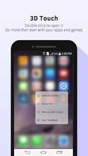 OS10 Launcher HD-smart,simple Screenshot
