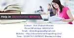 Gets the Supreme Editing Services at Bhopal for your Dissertation project