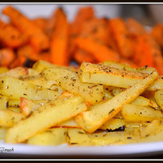Homemade French Fries Russet Potatoes Recipes