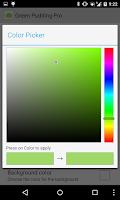 Screenshot of Green Pudding
