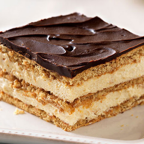 Easy Chocolate Eclair Squares