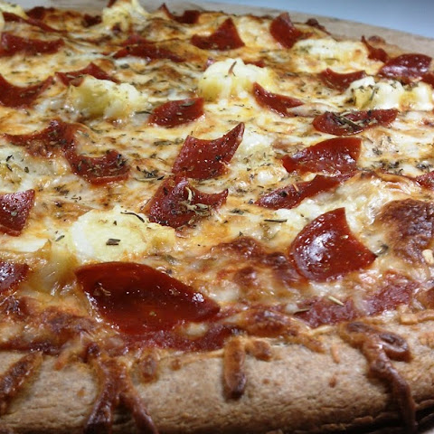 Pepperoni & Pineapple Pizza