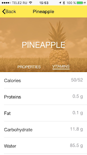 Juicy Ideas - Healthy Yummies - screenshot