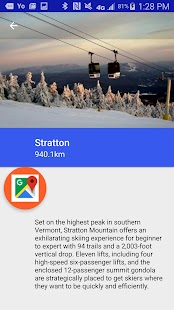 Vermont Ski & Snowboard Guide - screenshot