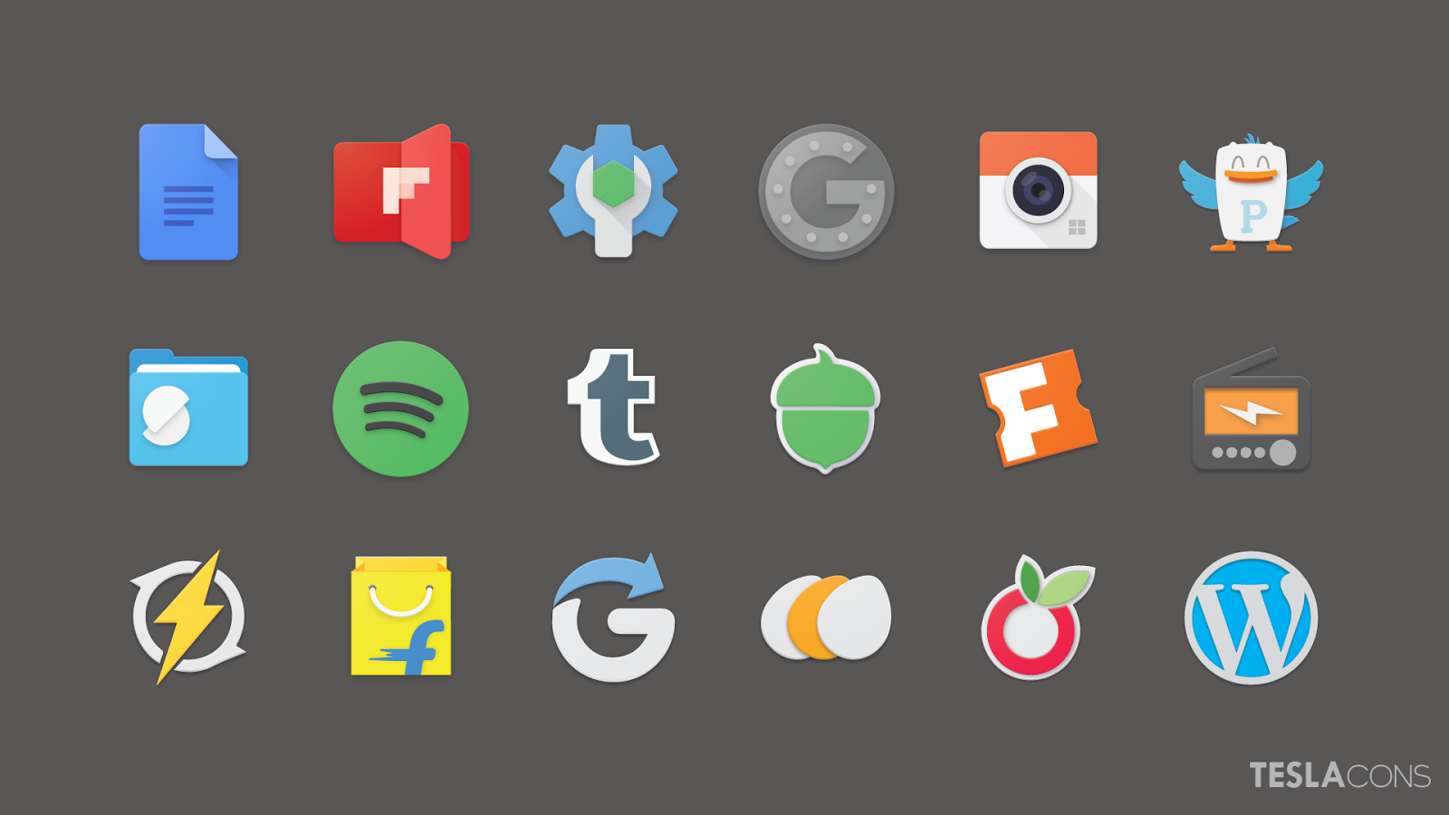 Teslacons Icon Pack Screenshot 5