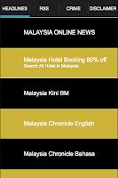 Screenshot of Malaysia Online News : GHB