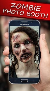 Zombie Photo Booth Editor - screenshot
