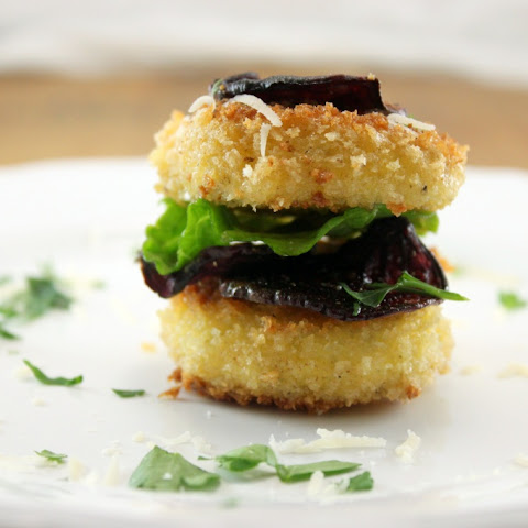 Fried Goat Cheese Stacks