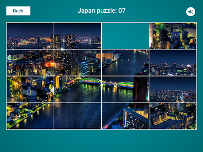 Japan Sliding Jigsaw Screenshot