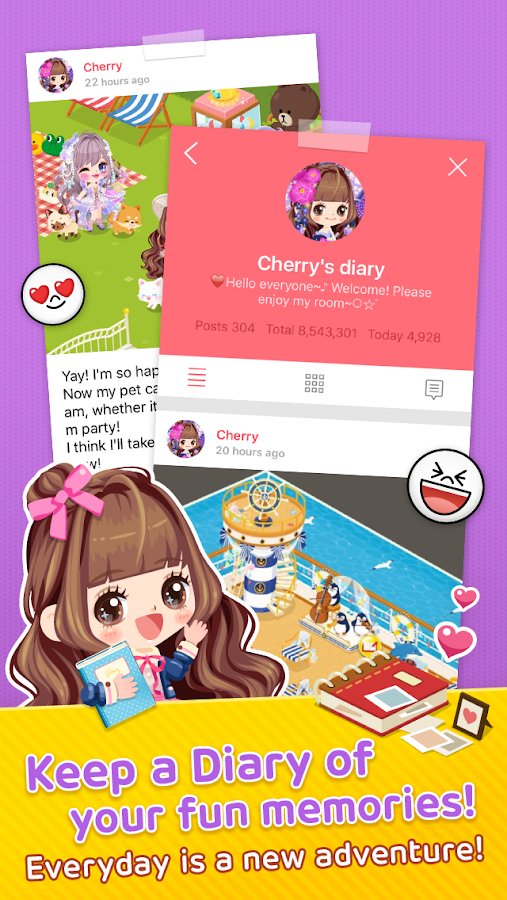 LINE PLAY - Your Avatar World Screenshot 4