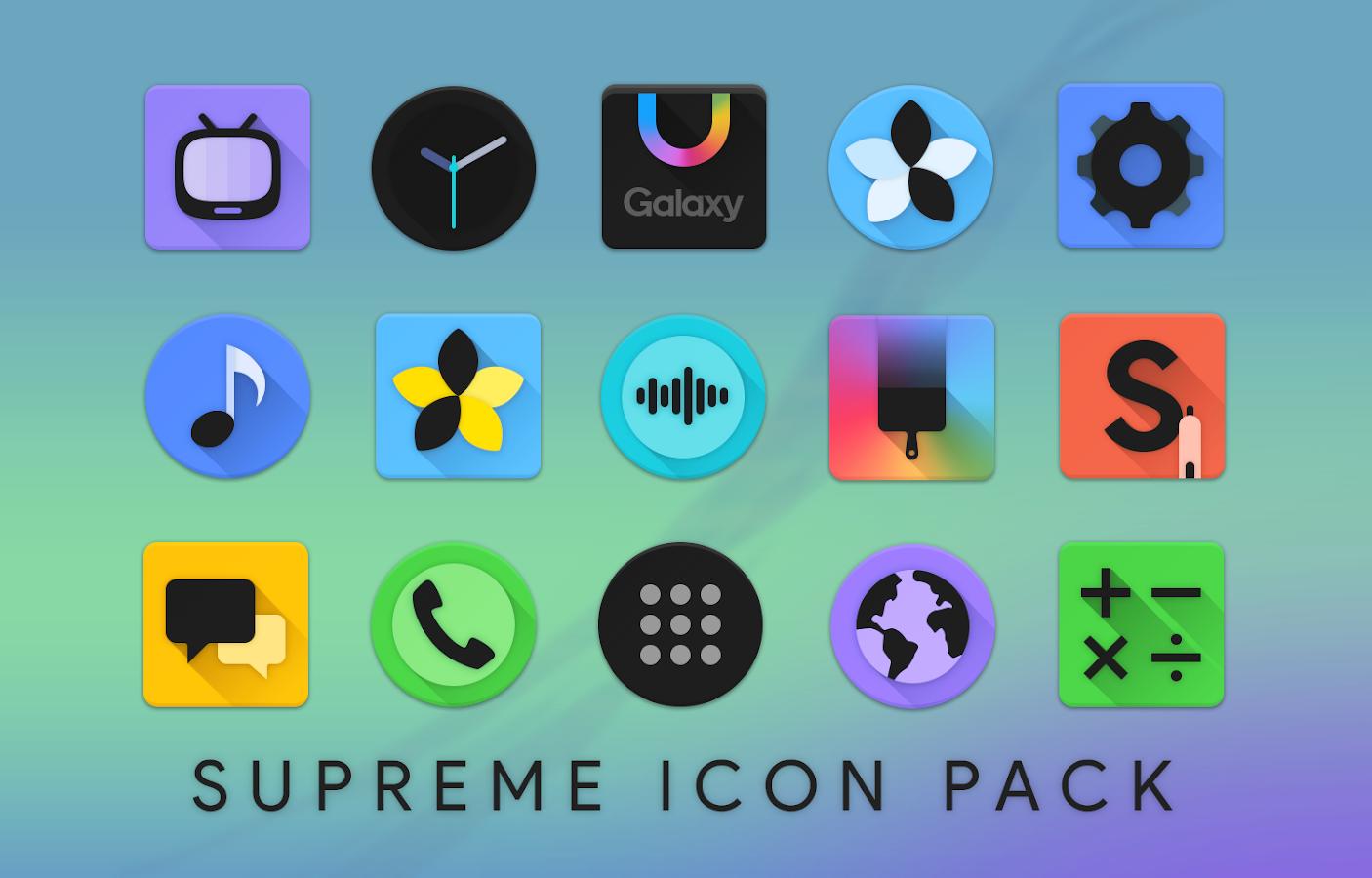 Supreme Icon Pack Screenshot 2
