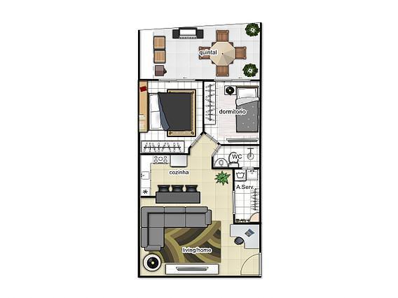 Apartamento Jardim Cristiane, Santo André (ap0534)
