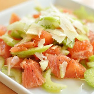 Celery and Grapefruit Salad with Parmesan