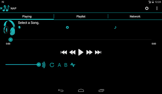Network Audio Player Pro- screenshot thumbnail