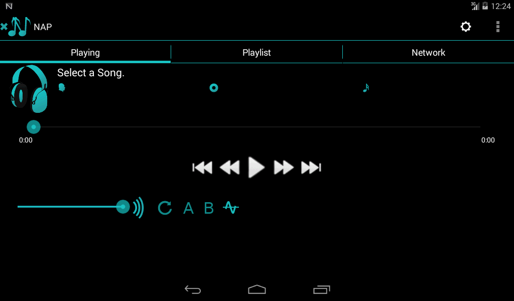 Network Audio Player Pro Screenshot 5