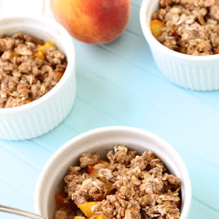 Healthy Peach Crisp With Oats Recipes