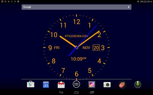 Analog Clock LiveWallpaper7PRO - screenshot