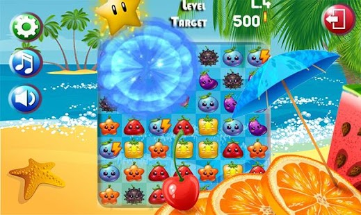 Fruit Pop Splash - screenshot