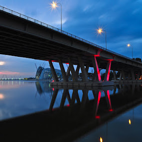 Stillness by Tim Teo - Buildings & Architecture Bridges & Suspended Structures