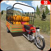 Tuk Tuk Rickshaw Food Truck 3D