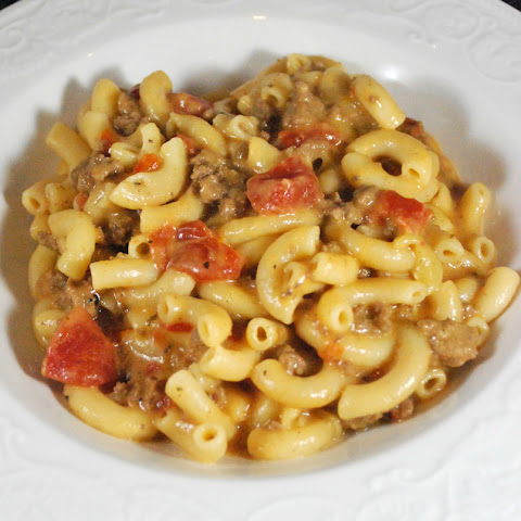Easy Cheesy Hamburger Pasta