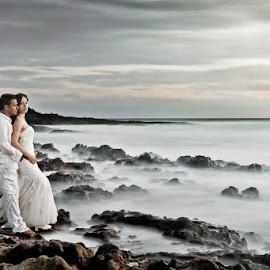 by Jay Hoque - Wedding Reception ( seascape portrait, seascape, post wedding )