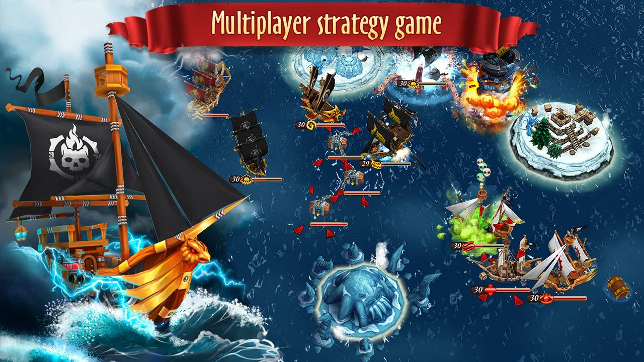 Pirate Battles: Corsairs Bay Screenshot 4