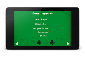 Screenshot of Xeri Greek card game