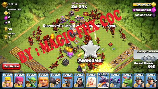 Game Coc Blackberry