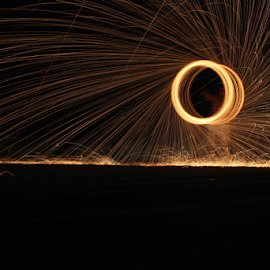 Steel Wool by Sufyan Habib - Abstract Light Painting ( pakistan, karachi, steel, wool, photography )